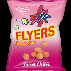 Flyers puffed corn sweet chilli