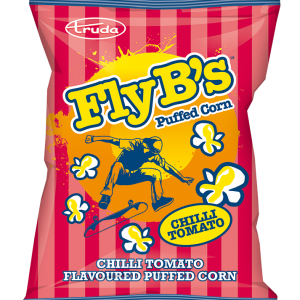 Fly-B's chilli tomato puffed corn