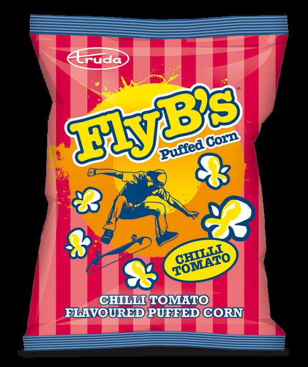 Fly-B's chilli tomato puffed corn