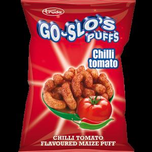 Go-Slo's chilli tomato puffs
