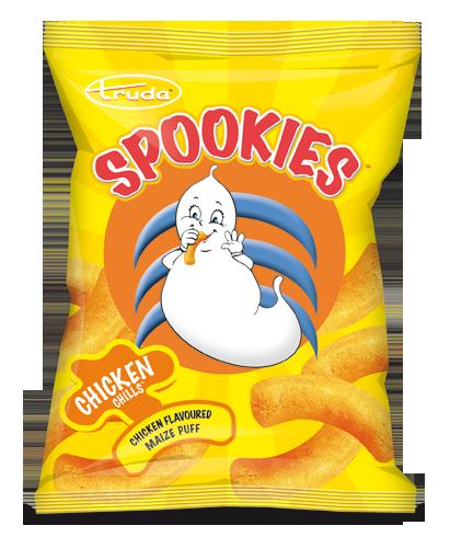 Spookies chicken puffs