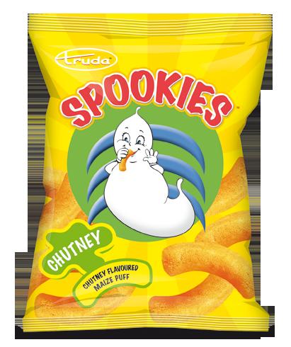 Spookies chutney puffs