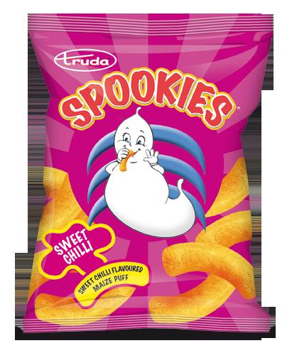 Spookies sweet chilli puffs