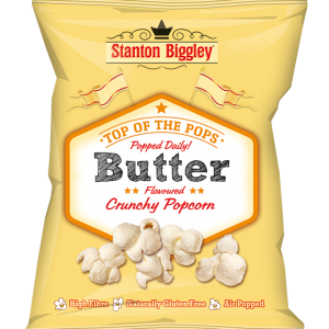 Stanton Biggley Butter popcorn