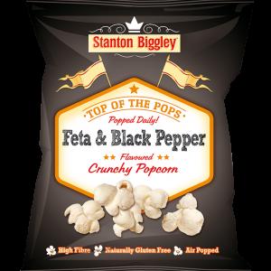 Stanto Biggley feta & black pepper popcorn