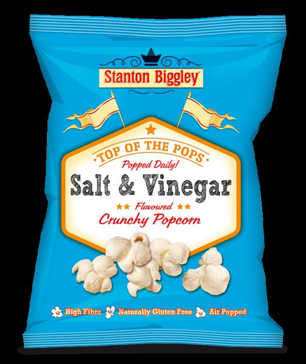 Stanton Biggley salt & vinegar popcorn