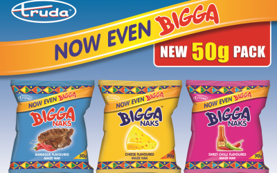 New Even Bigga 50g pack!