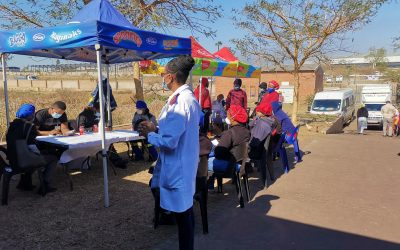 The Truda Foods Team Gets Vaccinated